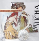 CARMANI - 1990 Alfons Mucha - The Four Seasons - Summer coffee cup in gift box