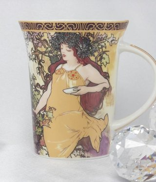 CARMANI - 1990 Alfons Mucha -The Four Seasons Cup X - Autumn