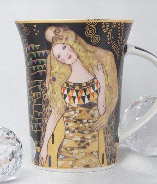 CARMANI - 1990 Gustav Klimt - Adam und Eva - Kaffeetasse X