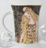 CARMANI - 1990 Gustav Klimt - Adam und Eva- Kaffeetasse in Geschenkbox