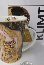 CARMANI - 1990 Gustav Klimt - Adam und Eva- Kaffeetasse im Geschenkkarton
