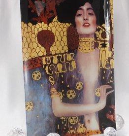 CARMANI - 1990 Gustav Klimt - glass plate - 45 x 28cm -Judith