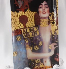 CARMANI - 1990 Gustav Klimt - glass plate Judith