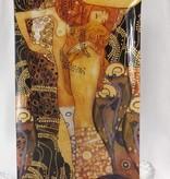 CARMANI - 1990 Gustav Klimt - Wasserschlangen - Dekorationsteller