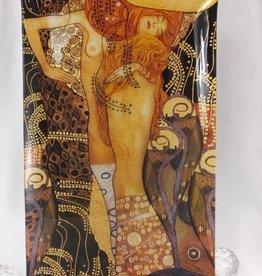 CARMANI - 1990 Gustav Klimt - glass plate - 32 x 24 cm