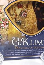 CARMANI - 1990 Gustav Klimt - Platzteller -Der Kuss  30 x 30 cm