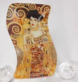 CARMANI - 1990 Gustav Klimt - Adele -Glasteller S- form