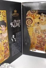 CARMANI - 1990 Gustav Klimt - Glasteller -S-Form -Adele Bloch Bauer