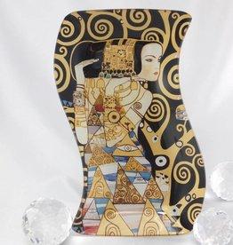 CARMANI - 1990 Gustav Klimt - Erwartung -Glasteller S- Form