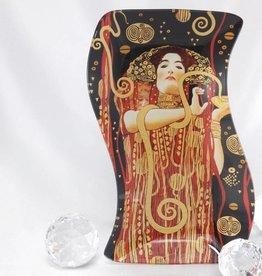 CARMANI - 1990 Gustav Klimt - Hygieia -Glasteller S- Form