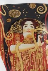 CARMANI - 1990 Gustav Klimt - Glasteller -S-Form - Hygieia - 23 x 15 cm