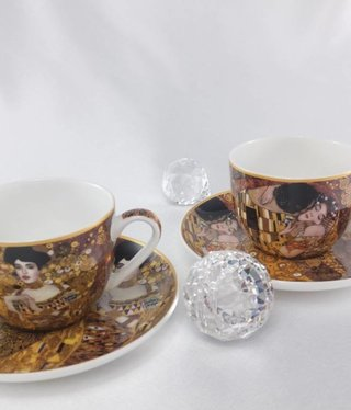 CARMANI - 1990 Gustav Klimt -  Cappuccino Tassen