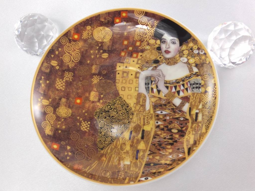 CARMANI - 1990 Gustav Klimt - Der Kuss - Cappuccino Tassen  - Der Kuss & Adele Bloch Bauer