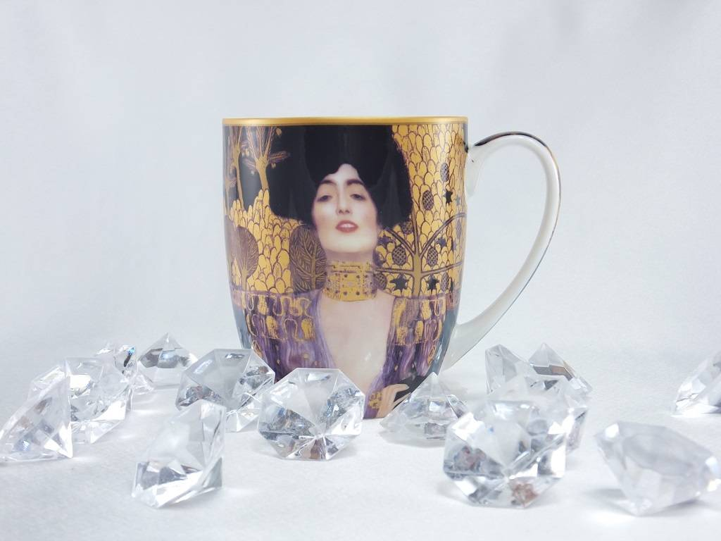 DELUXE by MJS Gustav Klimt - Single Tasse -Judith