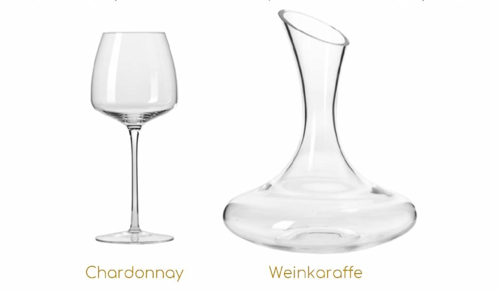 KROSNO 1923 Celebrity glass wine with wine carafe