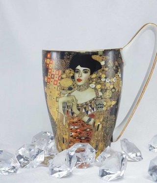 CARMANI - 1990 Gustav Klimt - Adele - coffee cup Vanessa XL