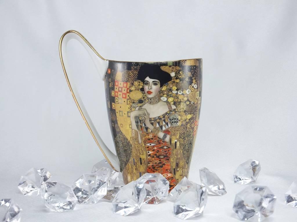 CARMANI - 1990 Gustav Klimt - Adele Bloch Bauer -Kaffeetasse - Vanessa XL in Geschenkbox