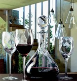 KROSNO 1923 Celebrity drinking glasses with wine decanter, pitcher, bowl and flower vase