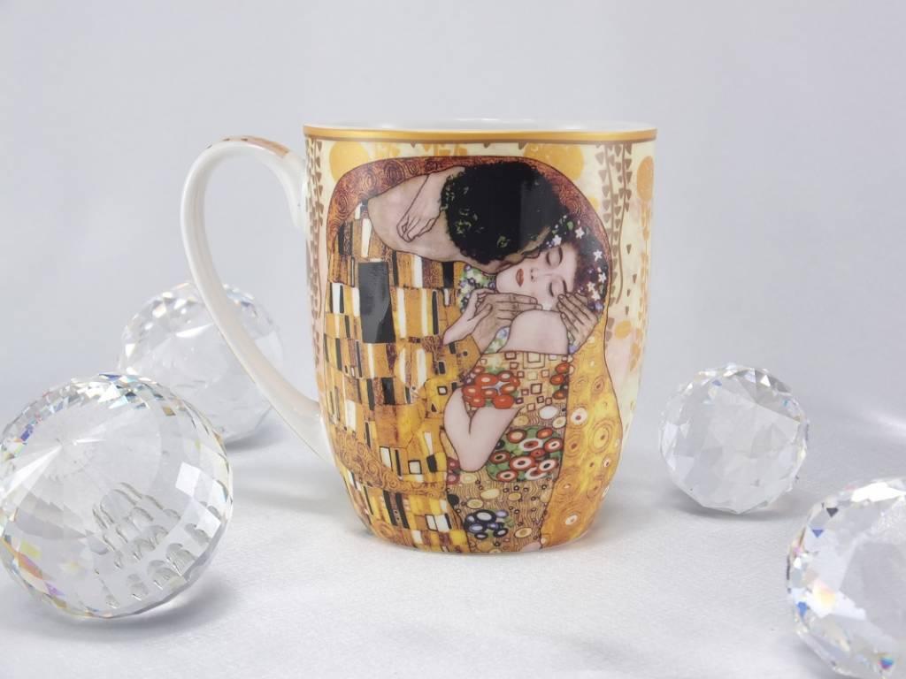 DELUXE by MJS Gustav Klimt  - Der Kuss Kaffeetasse Camio in Geschenkbox