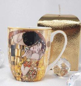 DELUXE by MJS Gustav Klimt - Kaffeetasse -Camio - Der Kuss