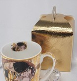 DELUXE by MJS Gustav Klimt - The kiss coffee cup Camio in gift box