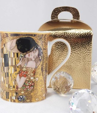 DELUXE by MJS Gustav Klimt - The Kiss coffee cup