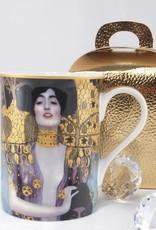 DELUXE by MJS Gustav Klimt - Judith- Kaffeetasse in Geschenkbox