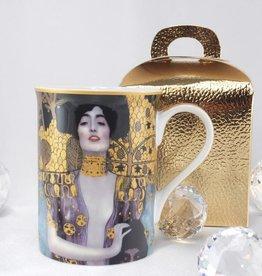 DELUXE by MJS Gustav Klimt - Coffee cup -Judith