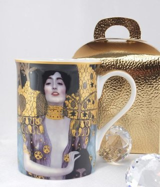 DELUXE by MJS Gustav Klimt - -Judith coffee mug