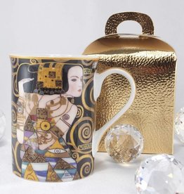 DELUXE by MJS Gustav Klimt - Kaffeetasse - Erwartung -
