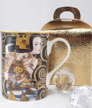 DELUXE by MJS Gustav Klimt - Erwartung  - Kaffeetasse