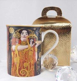 DELUXE by MJS Gustav Klimt - Coffee Mug - Hygieia