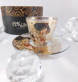 CARMANI - 1990 Gustav Klimt - Espressotasse - Glas