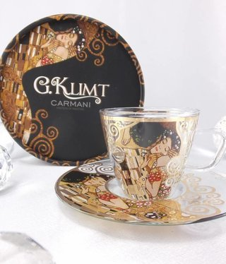 CARMANI - 1990 Gustav Klimt - Espresso cup - Glass