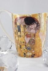 CARMANI - 1990 Gustav Klimt - Der Kuss-Kaffeetasse Vanessa in Geschenkbox