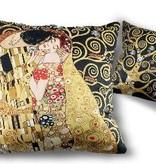 CARMANI - 1990 Gustav Klimt - The Kiss - Pillow 45 x 45 cm