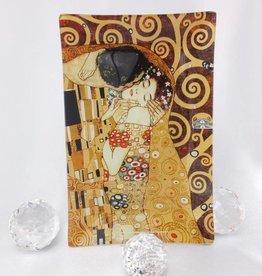 CARMANI - 1990 Gustav Klimt - Glasteller - Box - Der Kuss