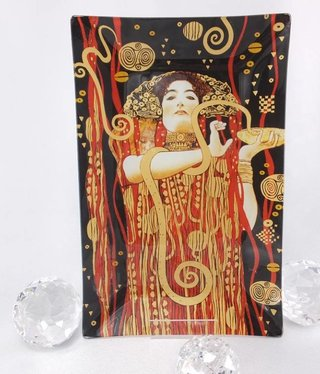 CARMANI - 1990 Gustav Klimt - Hygieia - glass plate / box
