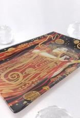 CARMANI - 1990 Gustav Klimt - Glasteller - Hygieia in Geschenkbox