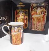 CARMANI - 1990 Gustav Klimt - Hygieia - glass plate in gift box