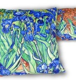 CARMANI - 1990 Vincent van Gogh - Irises - Cushion 45 x 45 cm