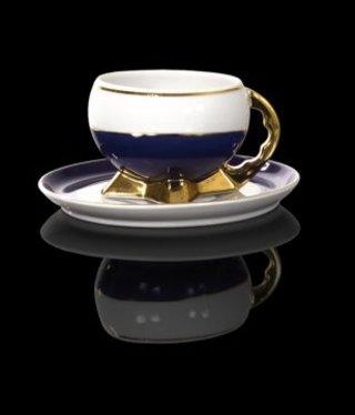 Cmielow - 1790 Glamour XI - Teetasse mit Golddekoration