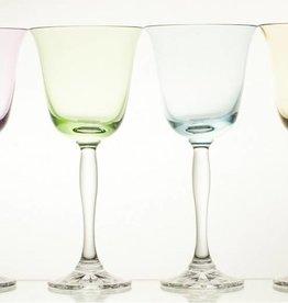 Julia - 1842  Carat - wine glass set colored