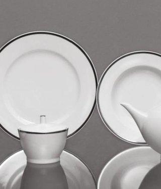 CRISTOFF -1831 Marie - Blanche - White / Platinum - Coffee service 6/15