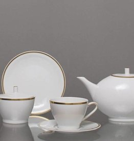 CRISTOFF -1831 Marie - Blanche - Weiß / Gold   - Kaffeeservice 6/15