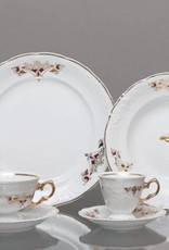 CRISTOFF -1831 Marie - Claire - Gold Ornament - Coffee Service for 6 Persons - 15 Pieces