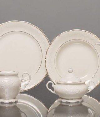 CRISTOFF -1831 Marie - Claire - Ecru / Gold - Coffee service 6/15