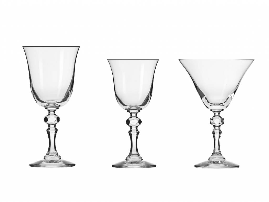 KROSNO 1923 Celebrity - exquisite drinking glass series with dessert glass