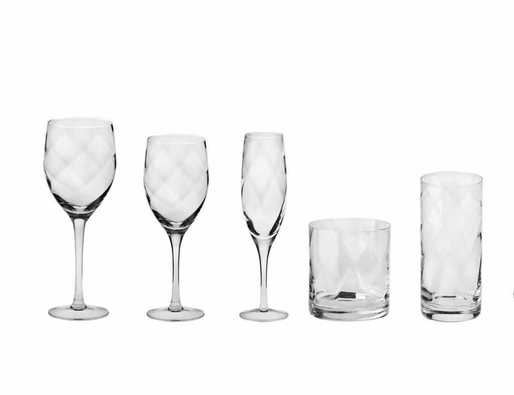 KROSNO 1923 Celebrity - Trinkgläser mit Weinkaraffe, Krug, Schüssel und Blumenvase