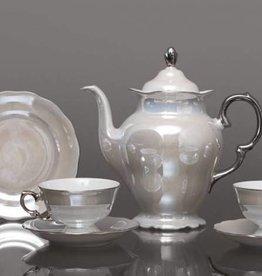 CRISTOFF -1831 Marie - Josée - Pearl / Luster / Platinum coffee service 6/15
